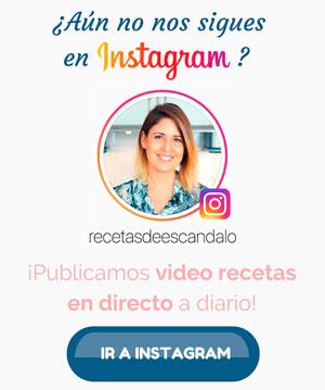 banner instagram @recetasdeescandalo