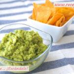 Guacamole casero, fácil y sabroso