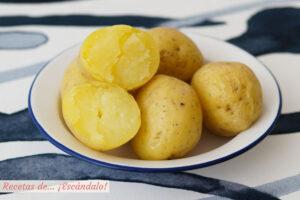 Patatas al microondas
