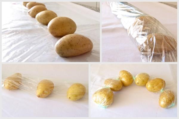 Receta de patatas al microondas