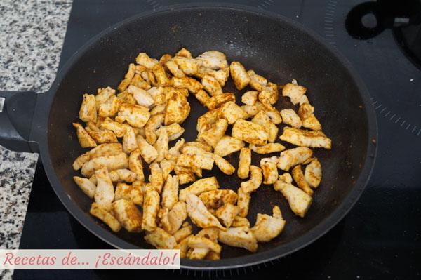 Pechuga de pollo para cous cous