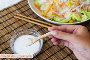 Salsa de la ensalada china