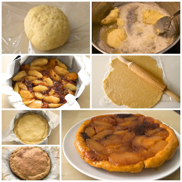 Receta de tarta tatin de manzana casera
