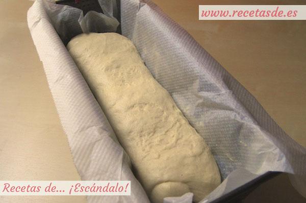 Cómo hacer pan de molde casero