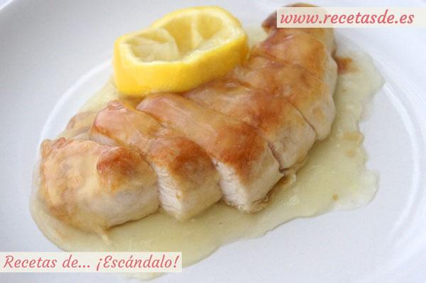Pollo al lim n estilo chino recetas de esc ndalo - Salsa de pollo al limon ...