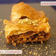 Baklava, receta de postre turco