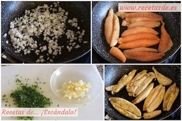 Cómo hacer huevas de pescado aliñadas con salsa verde