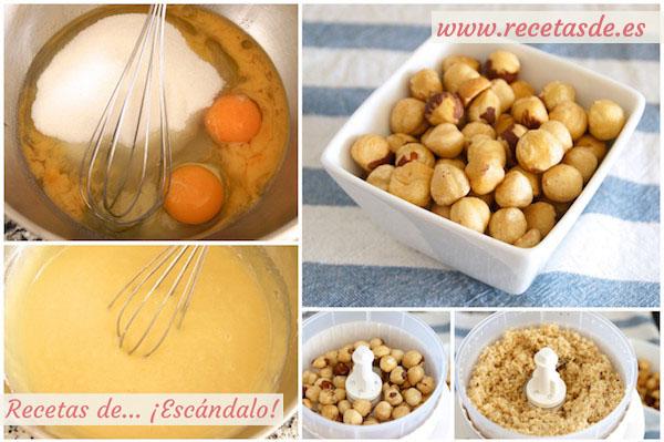 Cómo preparar bizcocho marmolado de yogur y Nutella, muy esponjoso
