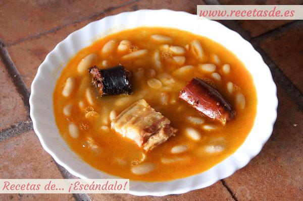 Receta de fabada asturiana tradicional y auténtica