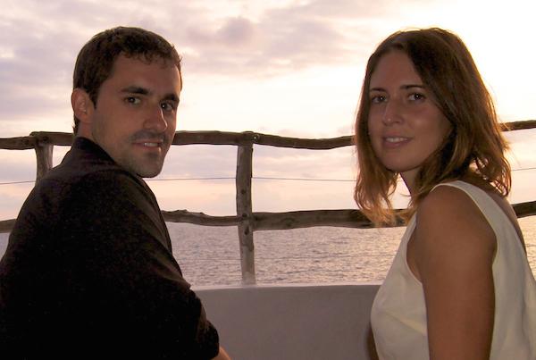 Natalia Sala y Manuel Guerrero de Recetas de Escandalo