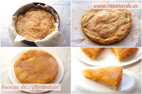 Cómo hacer la receta de tarta tatin de manzana con hojaldre, casera y fácil