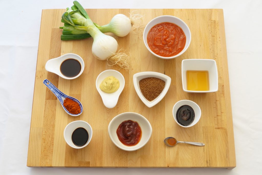 Ingredientes salsa barbacoa casera