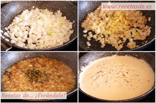 Cómo hacer la receta de salsa a la pimienta verde