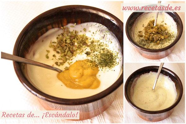 Cómo preparar salsa deluxe para las patatas