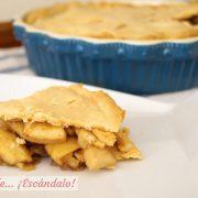 Apple Pie o tarta de manzana americana. Receta casera