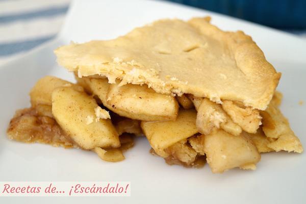 Receta de Apple Pie o tarta de manzana americana