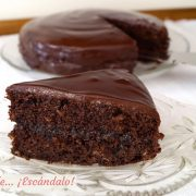 Tarta Sacher, la receta original paso a paso y facil