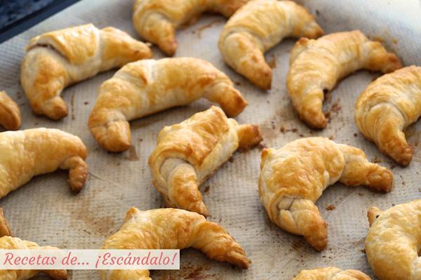 recetas de croissants faciles