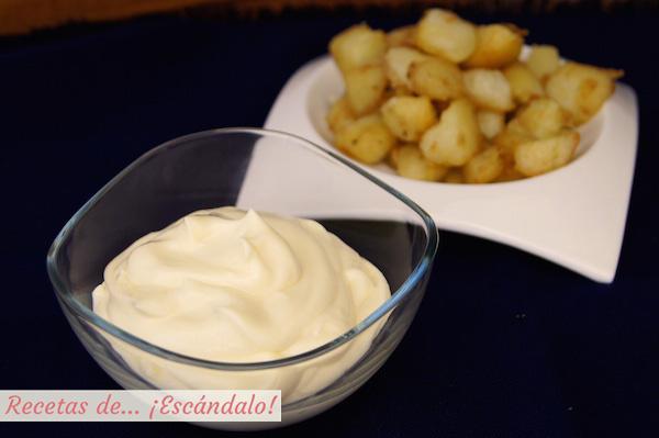 Receta de mayonesa casera