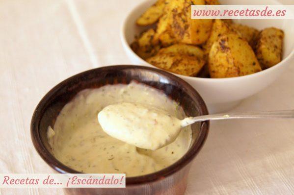 Salsa deluxe casera para las patatas