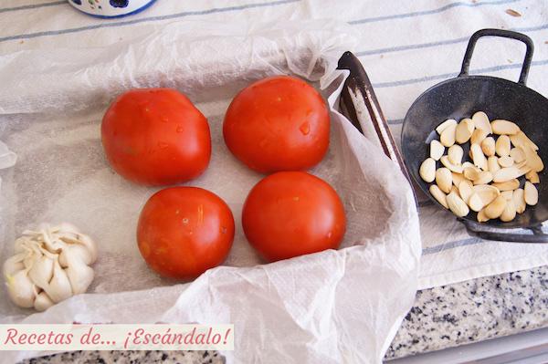 Como hacer salsa romesco para los calçots