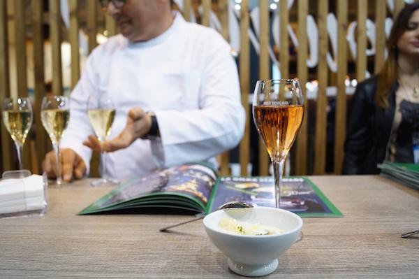 Champan y la sopa blanquita