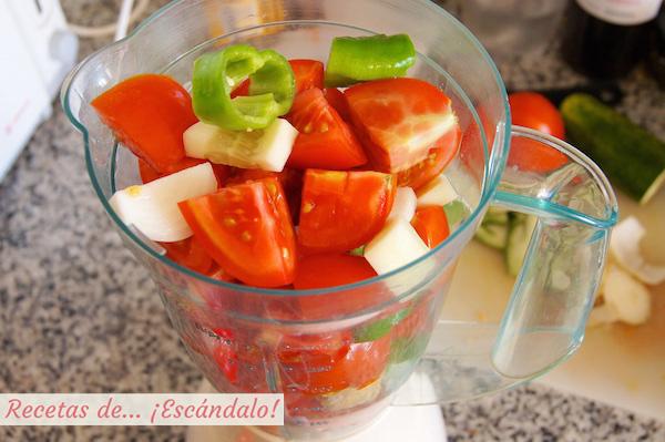 Batidora gazpacho andaluz