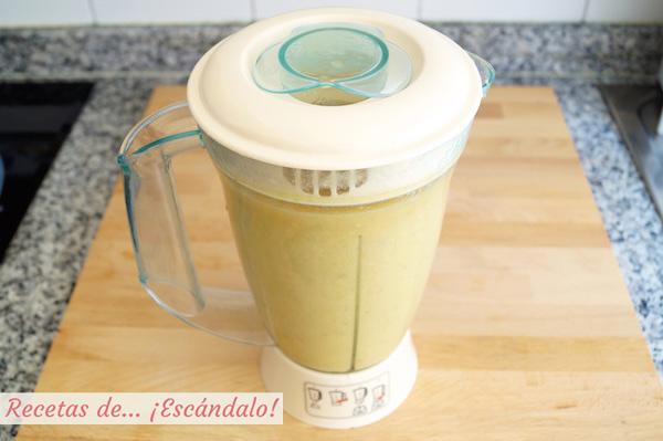 Como hacer gazpacho, sopa o crema de melon con jamon