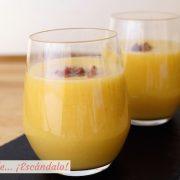 Gazpacho, sopa o crema de melon con jamon