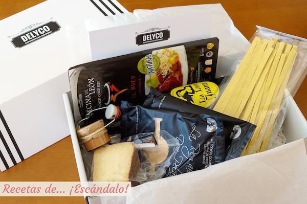 Pack de productos gourmet delyco