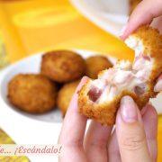 Croquetas de jamon caseras, la receta mas sabrosa