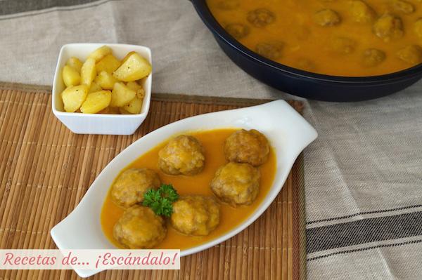 Receta de albondigas de carne en salsa caseras