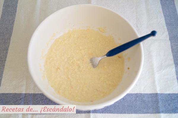 Pan y leche para las albondigas caseras