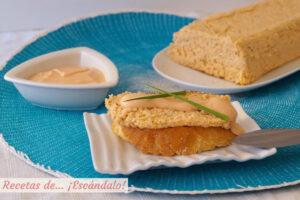 Pastel de salmon fresco, receta muy facil