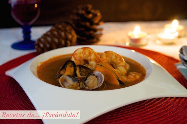 Sopa De Marisco Receta Fácil Y Casera