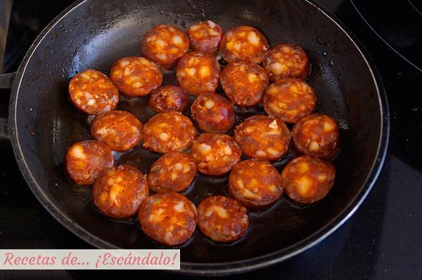 Chorizo ahumado para el caldo verde portugues