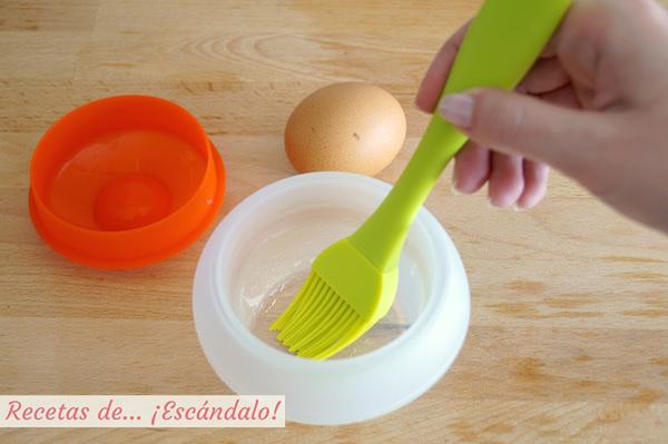 Molde para huevos pochados o escalfados