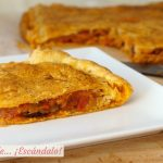 Empanada de atun con masa de hojaldre, receta facil