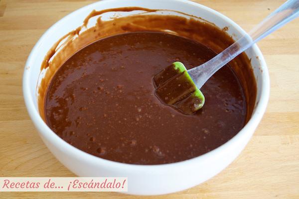 Mezcla para coulant de chocolate o volcan de chocolate