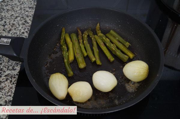 Verduras a la plancha con mantequilla