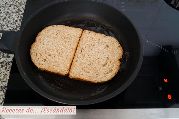 Rebanadas de pan de molde