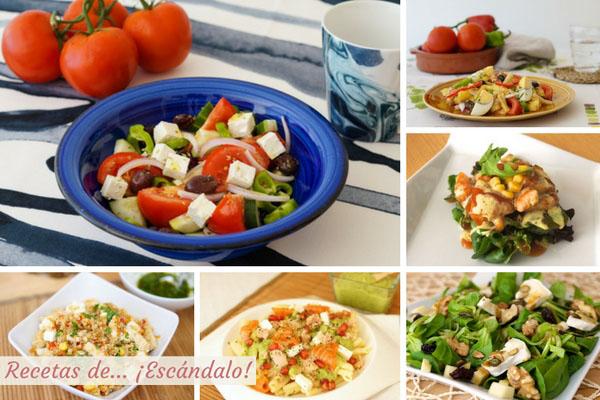 Las mejores ensaladas de verano. Originales, fáciles y refrescantes
