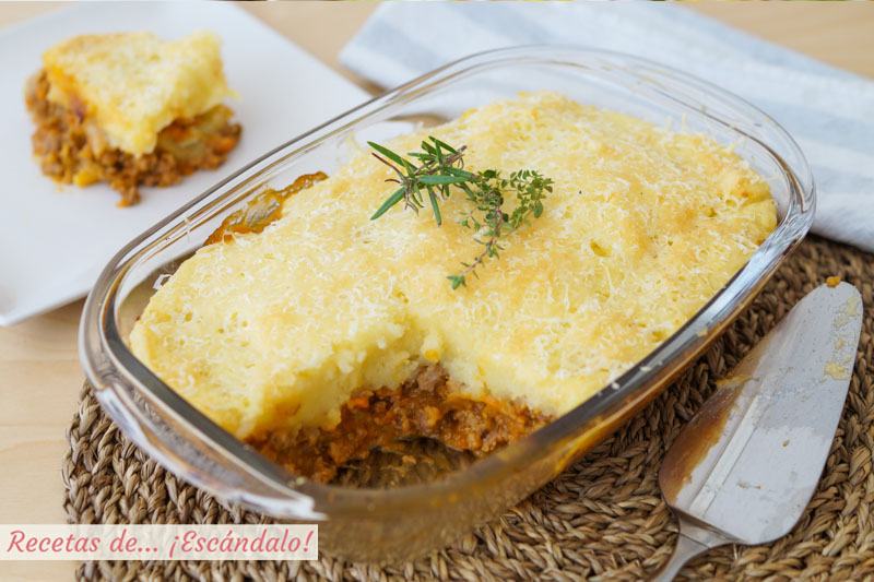 Pastel de carne picada y patata con queso recetas de esc ndalo - Que cocinar con carne picada ...