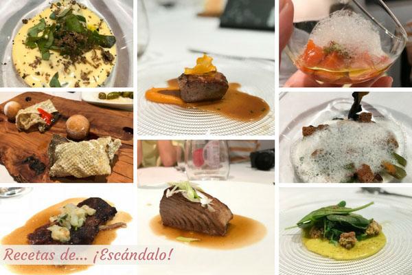 Cena en Restaurante Los Sentidos en Linares