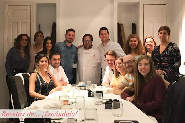 Foto de familia en Restaurante Los Sentidos de Linares
