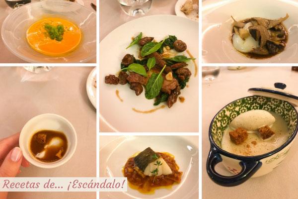 Menu Restaurante Casa Antonio de Jaen