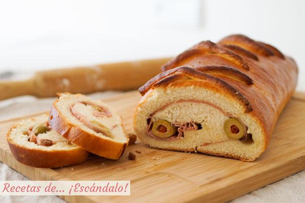 Receta tradicional venezolana de pan de jamon