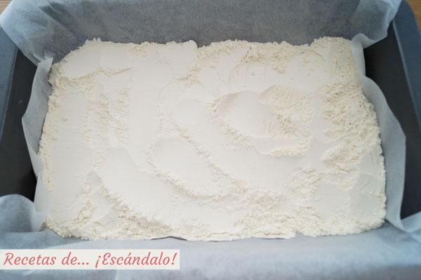 Secar harina