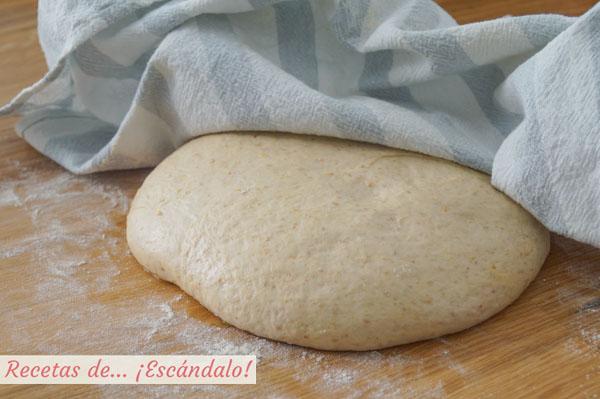 Masa de pan casero