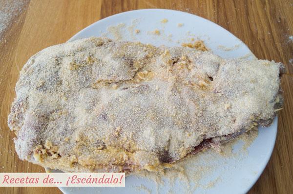 Cachopo empanado